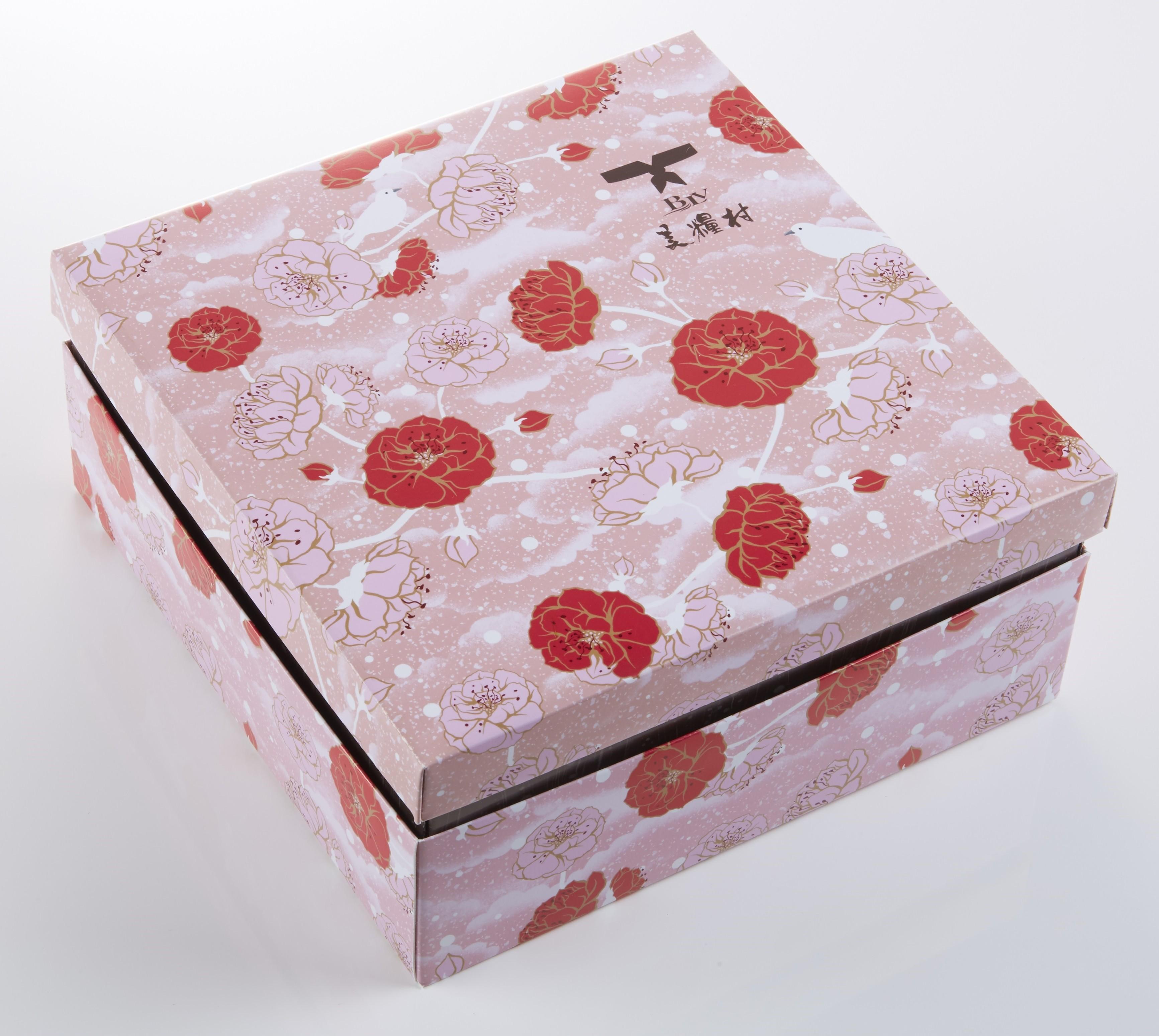 《中秋月餅》花漾雙層 A款FL1