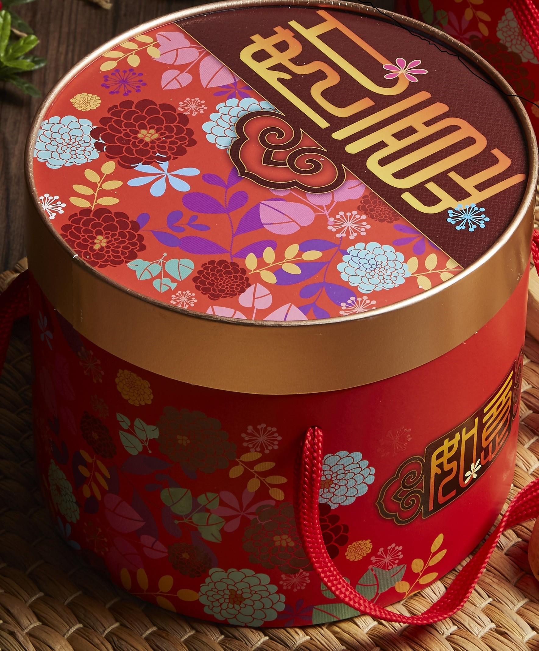 新年禮盒-如意花圓
