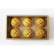 《中秋月餅》《菠蘿蛋黃酥》6入 美糧禮讚S2