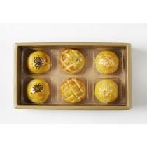 《中秋月餅》《紅豆蛋、綠豆蛋、菠蘿蛋》 6入 美糧禮讚S3